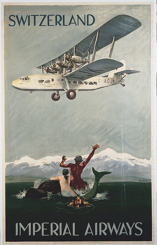 Switzerland by Imperials Airways (1920s?)