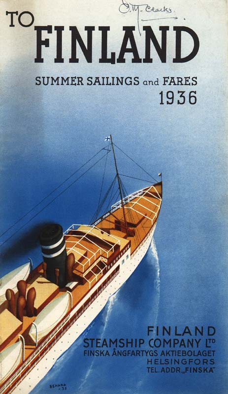 To Finland –1936