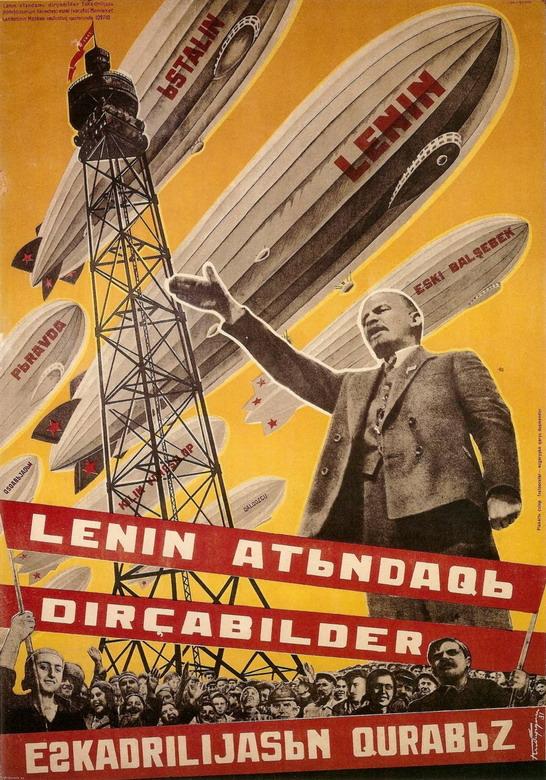 Soviet Airships – The Lenin, The Stalin, The Pravda,etc.