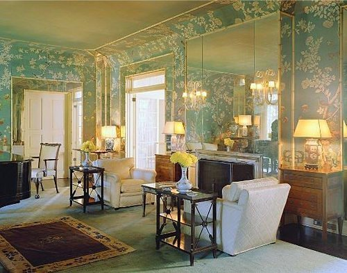 1930s Interior Design Elsie Dewolfe Design For A Sitting