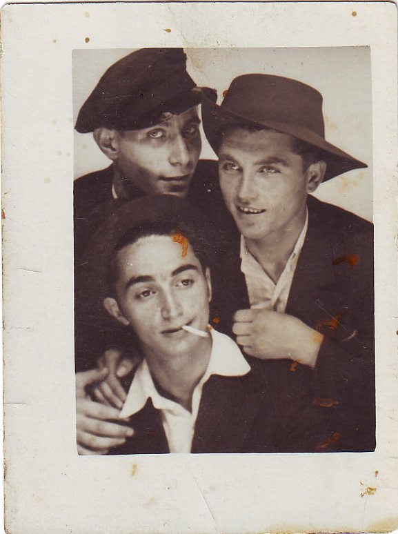 Three Young MenTogether