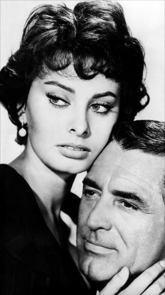 Sophia Loren and Cary Grant,1950s