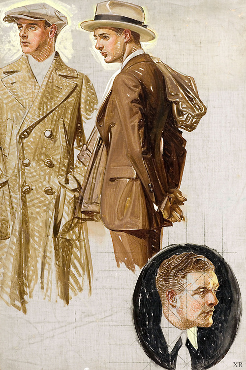 Leyendecker sketches (1910s?)