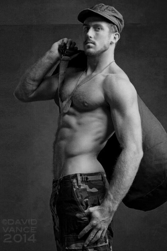 soldier shirtless 42