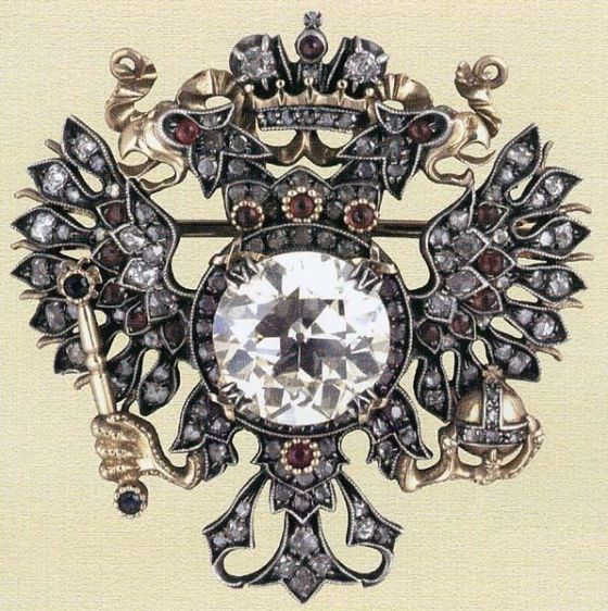 The Imperial Eagle, by Faberge, 1913, Moscow.