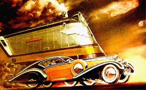 1930s car train 500