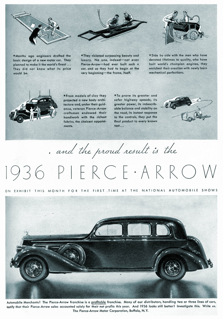 1936 Pierce Arrow