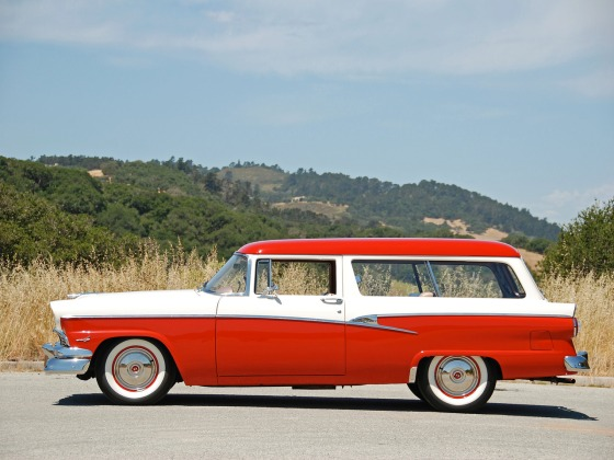 1956 ford custom ranch wagon