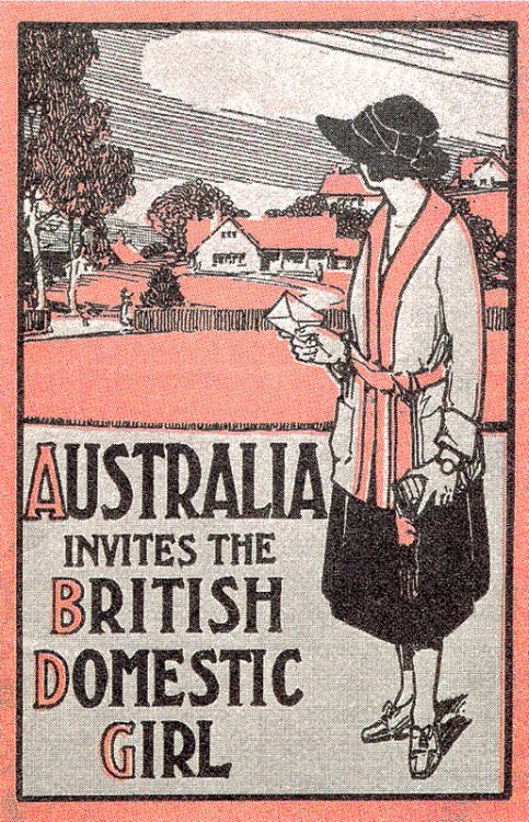 Australia invites the British domestic girl!