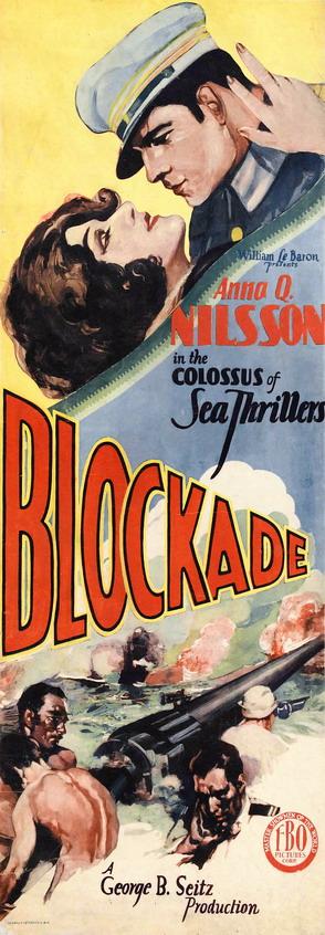 """Anna Nilsson in """"Blockade"""", 1928"""