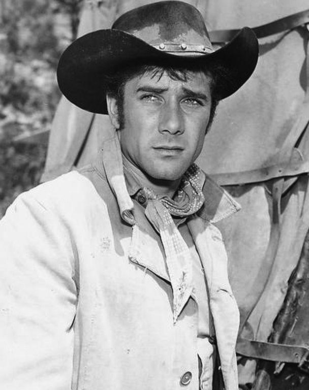 Robert Fuller as a cowboy