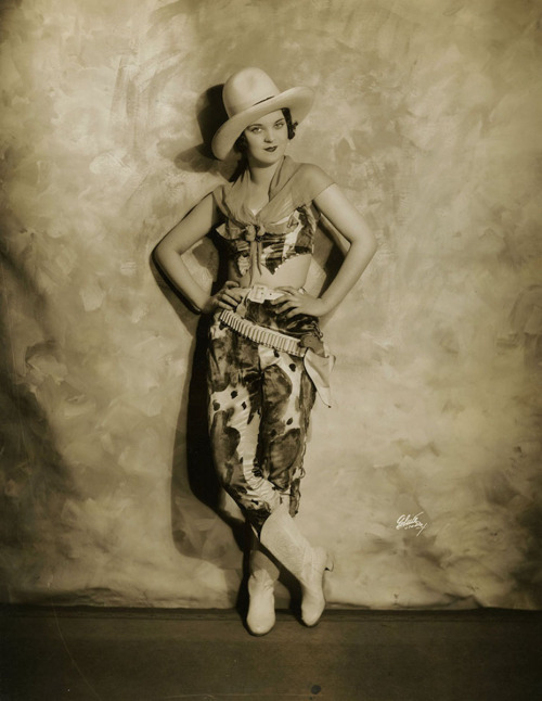 Cowgirl Patsy O'Day by White Studios, 1928-1929