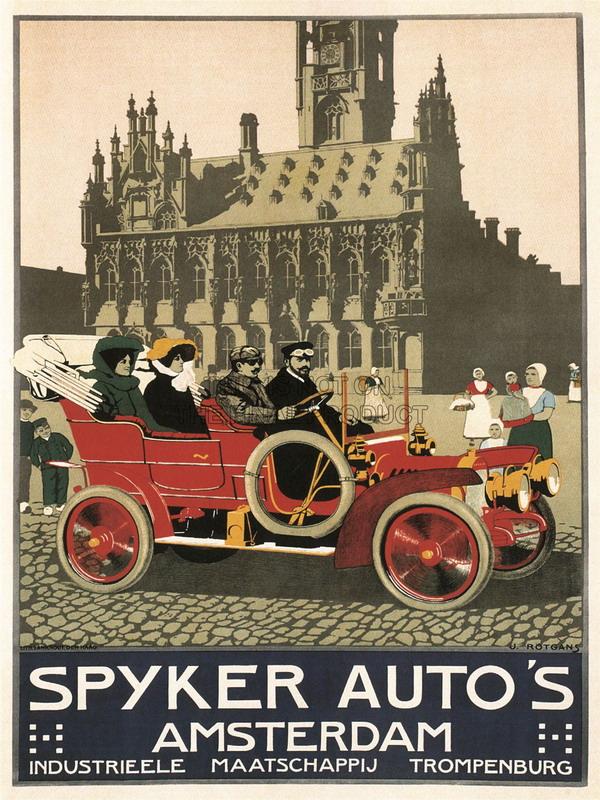 Spyker Auto, Amsterdam