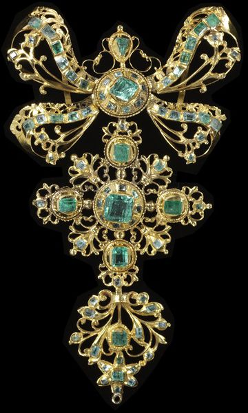 jewelry Spanish Pendant Circa 1750