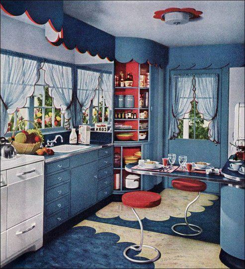 kitchen 1940s 12