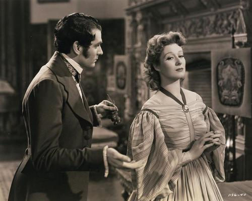 "Laurence Olivier and Greer Garson in ""Pride and Prejudice"""