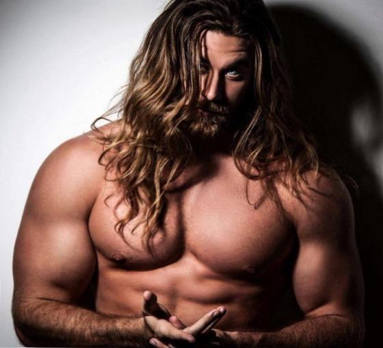 long hair 2433