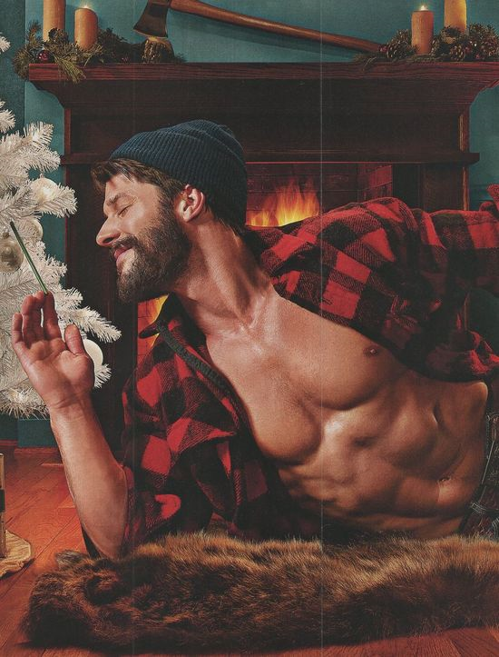 All I want for Christmas is a lumberjack