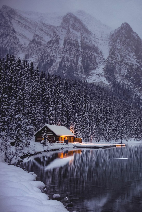 Lake Louise, Alberta, Canada by Nazmul Islam