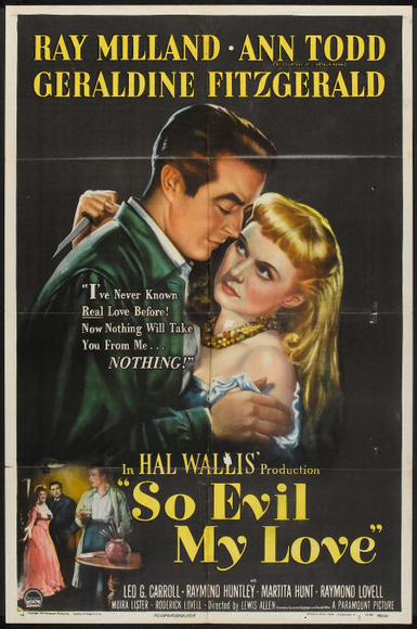 "Ray Milland in ""So Evil My Love"""