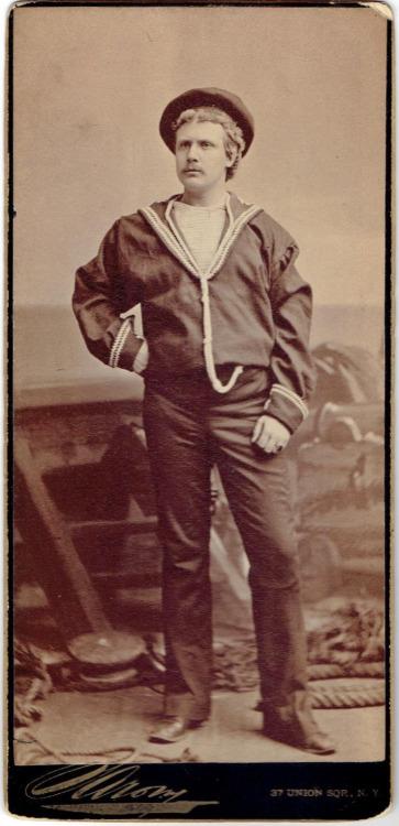 Vintage Sailor Stache