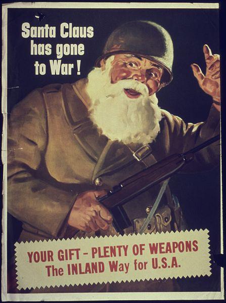 Santa has gone towar!