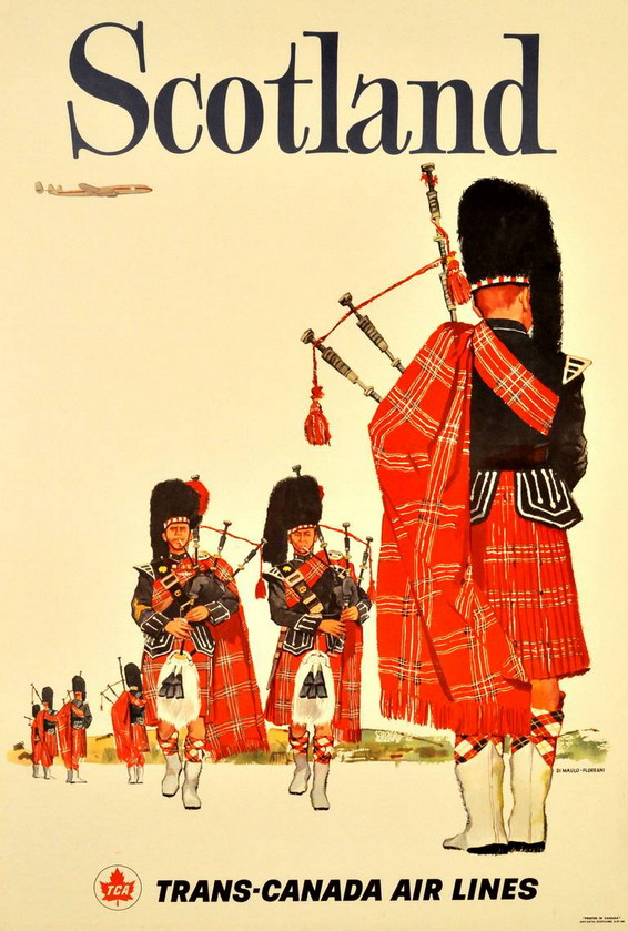 Scotland by Trans-Canada Airlines, 1950s