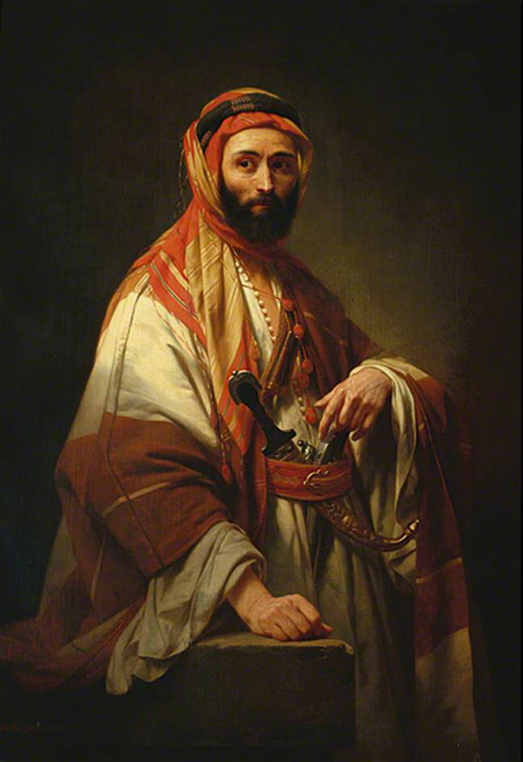Syrian Chief Nicaise de Keyser,1846