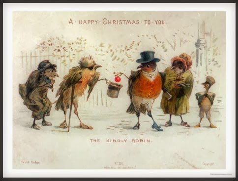 A Happy Christmas To You, from the Kindly Robin