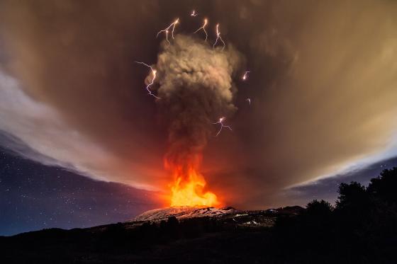 volcano etna 2015