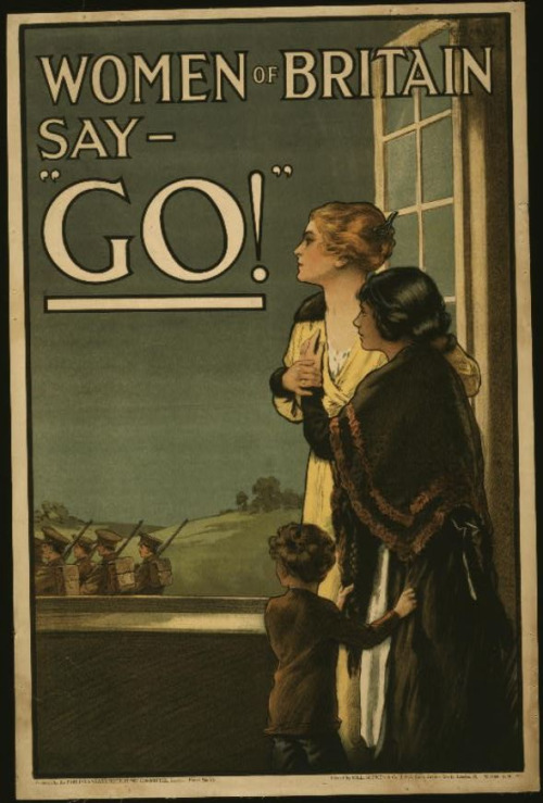 WWI women say go