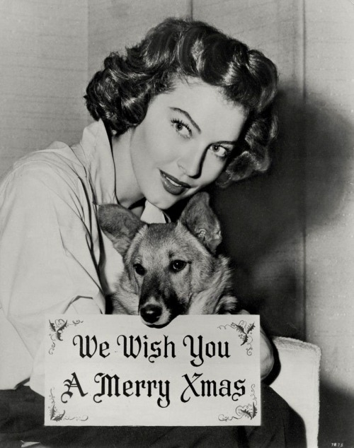 Merry Christmas from Ava Gardner