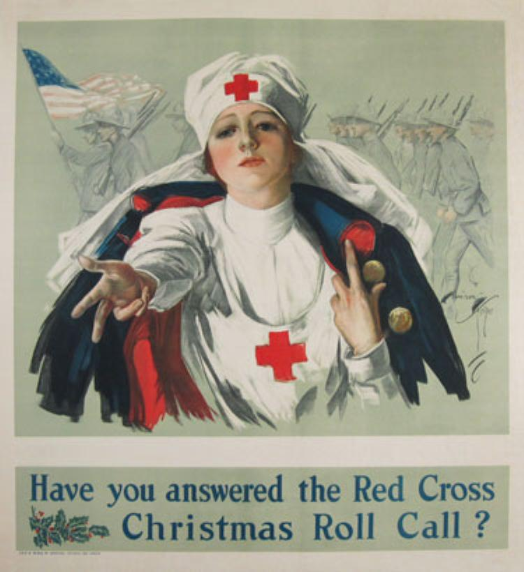 Christmas, Red Cross, WWI