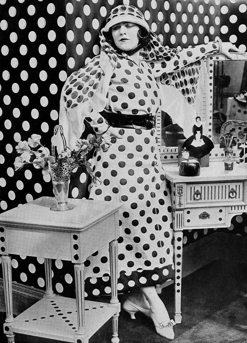 Polka Dot Overload,1920s