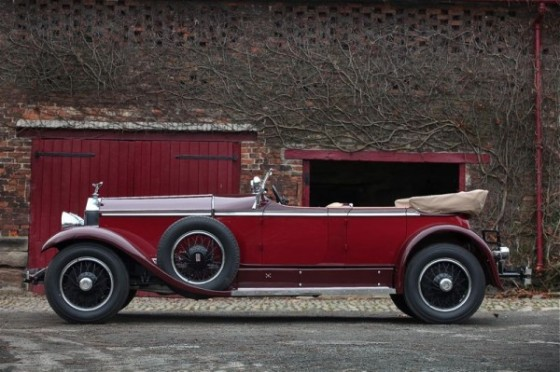 1929 Rolls-Royce Phantom I Ascot Tourer 3