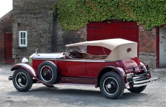 1929 Rolls-Royce Phantom I Ascot Tourer 4