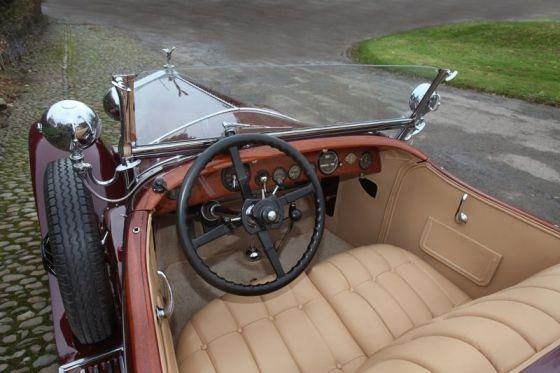 1929 Rolls-Royce Phantom I Ascot Tourer 5