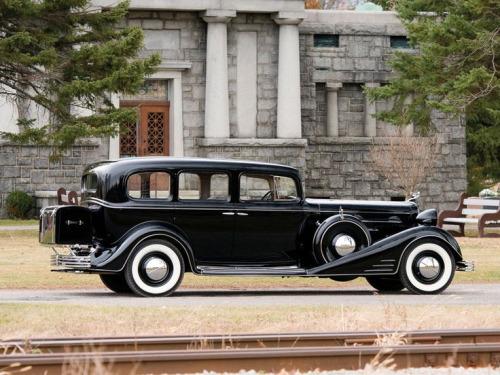 1933 Cadillac, Seven Passenger Sedan with a V-16Engine