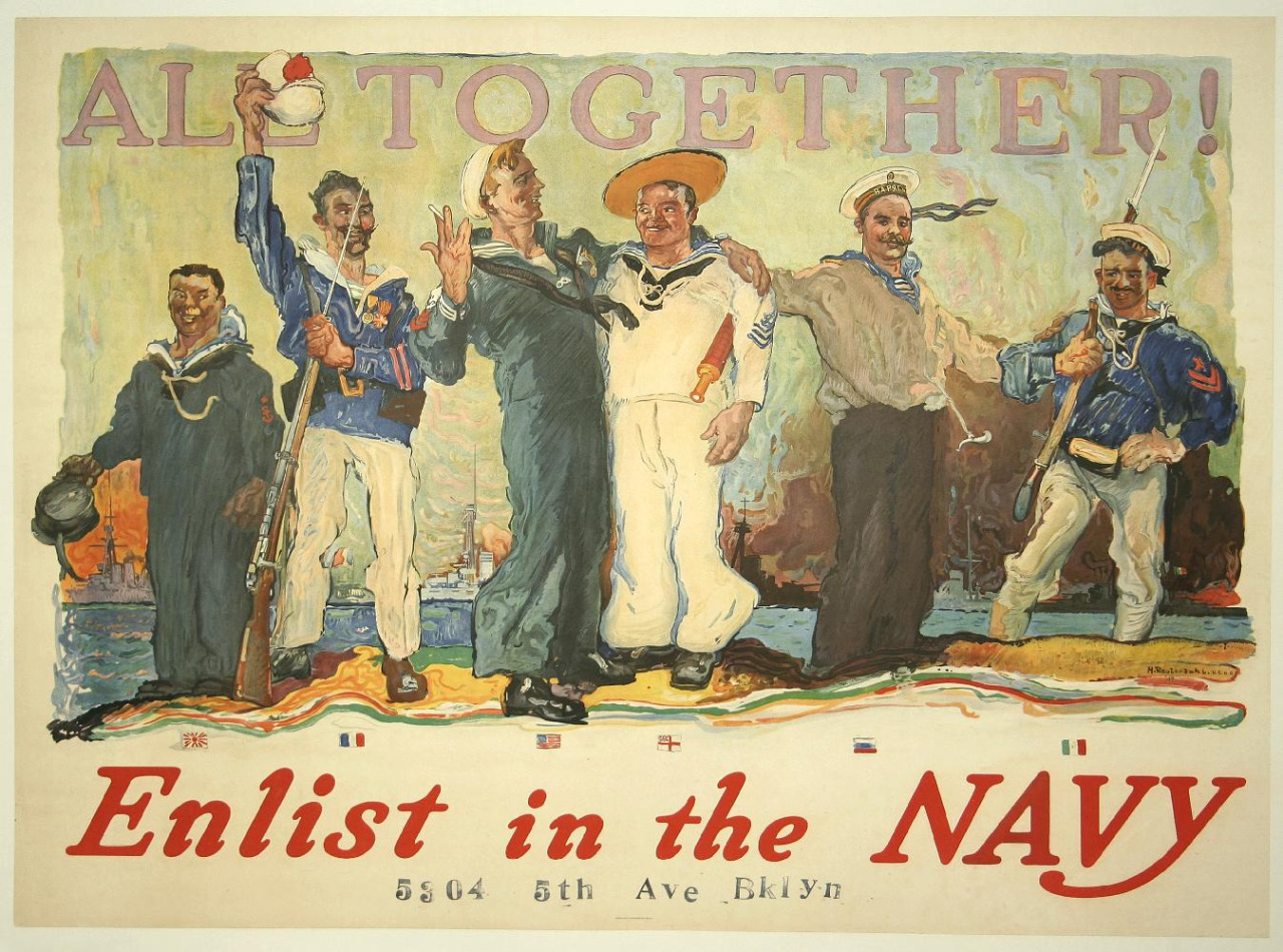 All Together! (Sailors from around the world,pre-WWI)