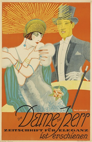 Fur eleganz die dame, der herr(1920s)