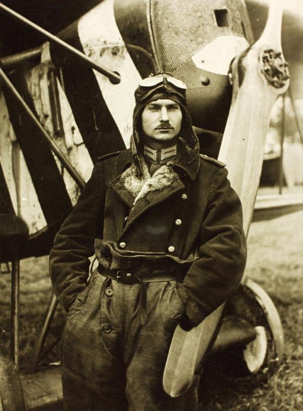 German military pilot