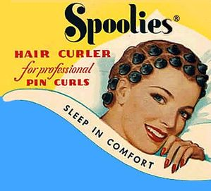 Spoolies, for professional pincurls