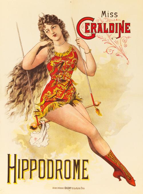 Miss Geraldine at theHippodrome