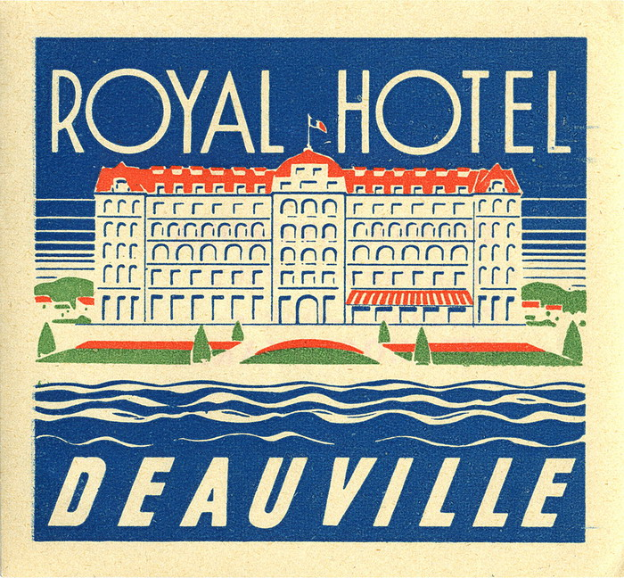 Royal Hotel, Deauville,France