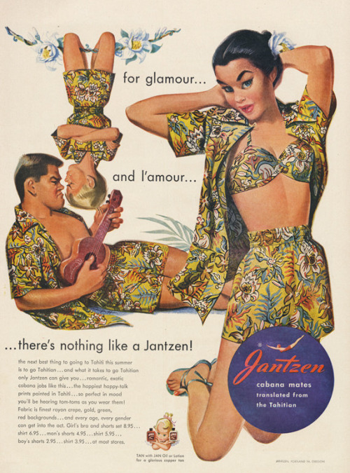 For glamour and l'amour, Jantzen beach and poolwear