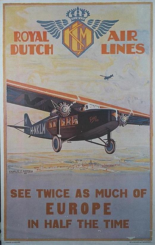 KLM, Royal Dutch Airlines,1920s