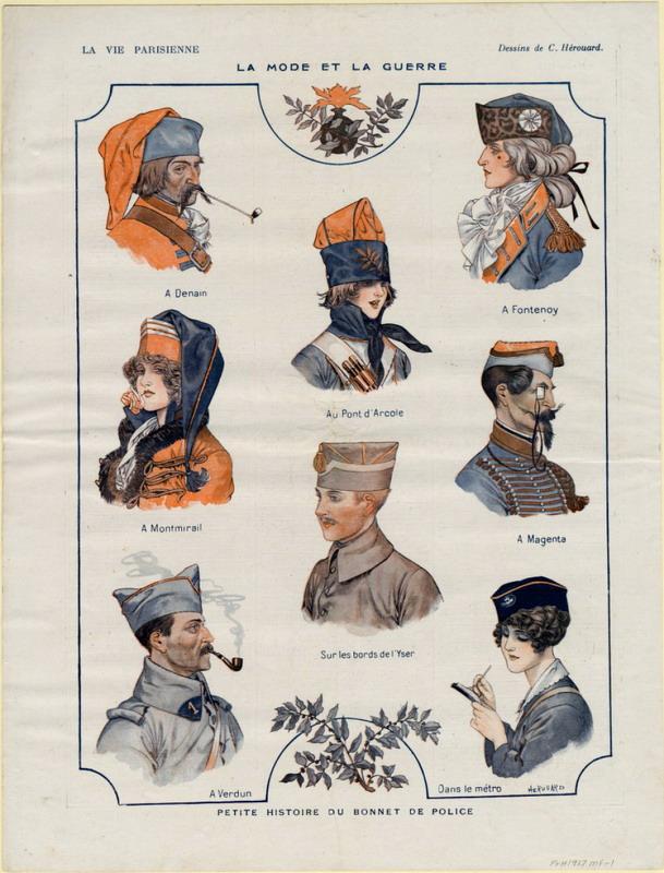 La Mode et la Guerre (de La VieParisienne)
