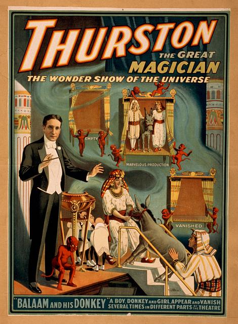Thurston, The GreatMagician