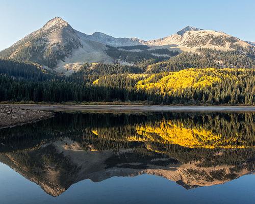 mountain reflection 7501