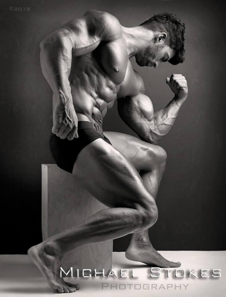 Muscular model by MichaelStokes